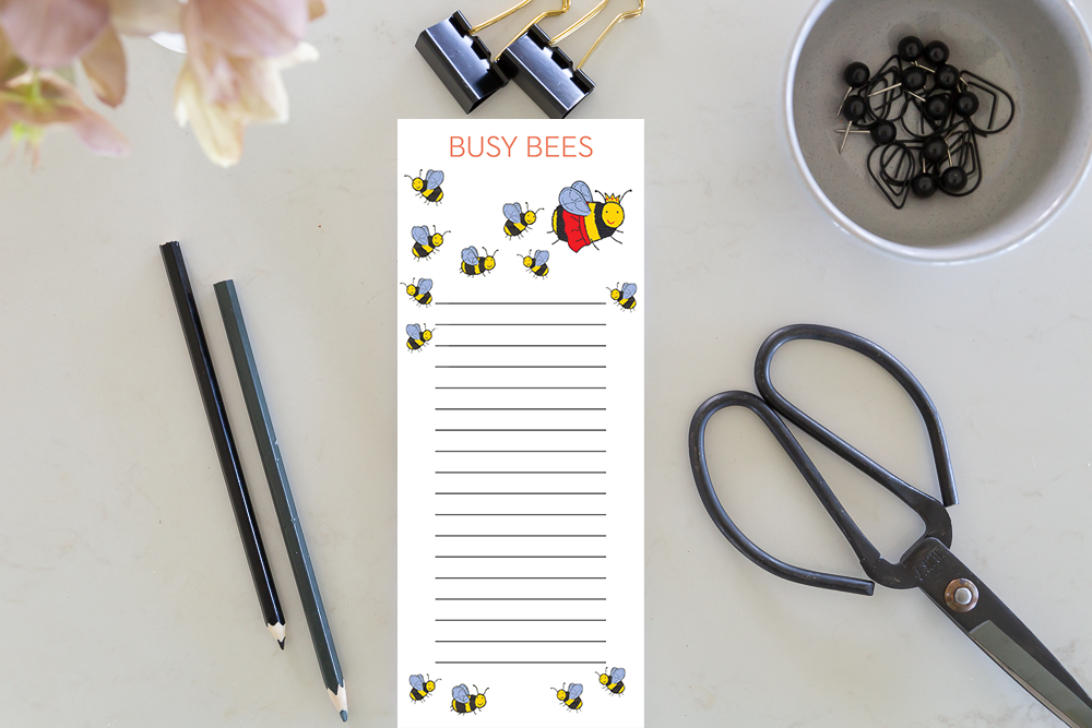 Jotter - Busy Bees