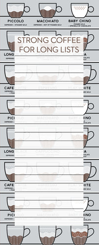 Jotter - Strong Coffee for Long Lists