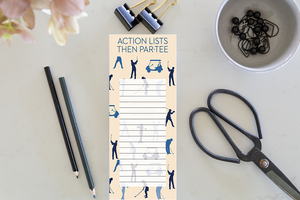 Jotter - Action Lists Then Par-Tee (Golf)
