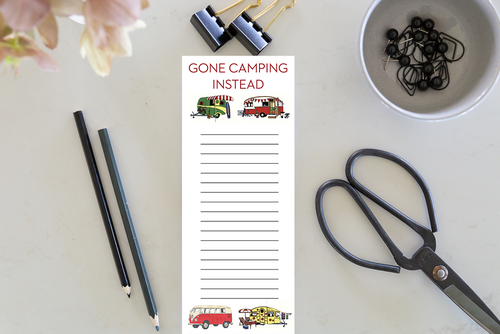 Jotter - Gone Camping Instead
