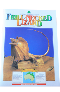 Card Sculpture - Lizard - Allgifts Australia