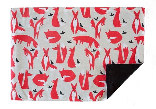 Placemat - Foxes