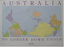 Postcard - No Longer Downunder - Allgifts Australia