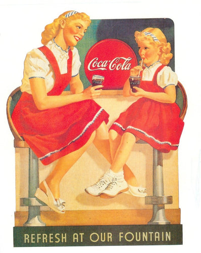 Poster - Coke Soda Fountain - Allgifts Australia