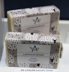 Sheep Wrap Lanolin Soap - Allgifts Australia