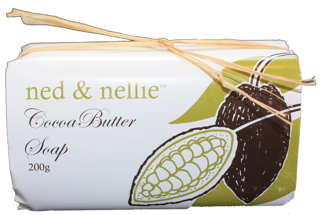 ned & nellie 200g Soap - Cocoa Butter