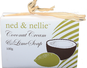 ned & nellie 100g Soap - Coconut Cream - Allgifts Australia