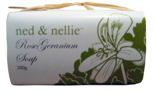 ned & nellie 200g Soap - Rose Geranium - Allgifts Australia