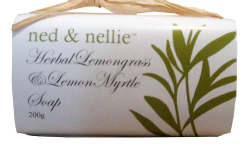 ned & nellie 200g Soap - Lemongrass - Allgifts Australia