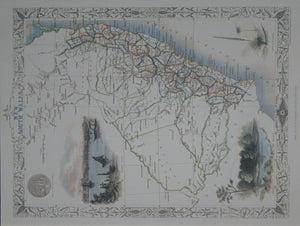 Tallis Map - NSW - Allgifts Australia