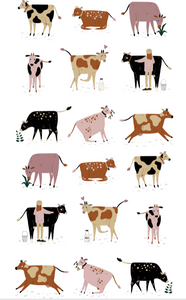 Tea Towel - Dairy Cows