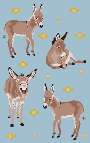 Tea Towel - Donkey