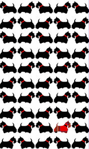 Tea Towel - Scottie Dog - Allgifts Australia