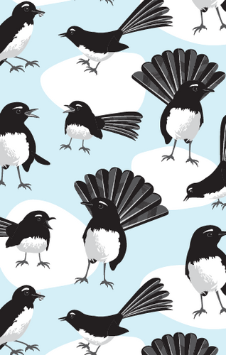 Tea Towel - Willie Wagtail