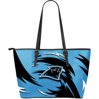 Amazing Leather Totes Carolina Panthers Football Sports Handbags for Women ef2843a60