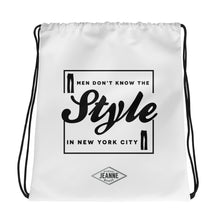 Style in NYC - Drawstring bag