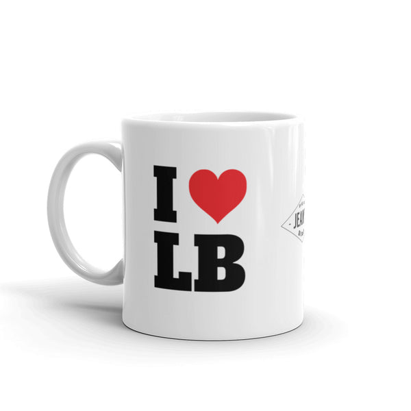 I Love LB - Coffee Cup