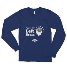 I AM Left Brain - Long sleeve t-shirt