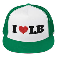 I  Love LB - Trucker Cap