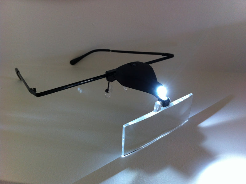 Magnifying Glasses with LED light (3 lenses)