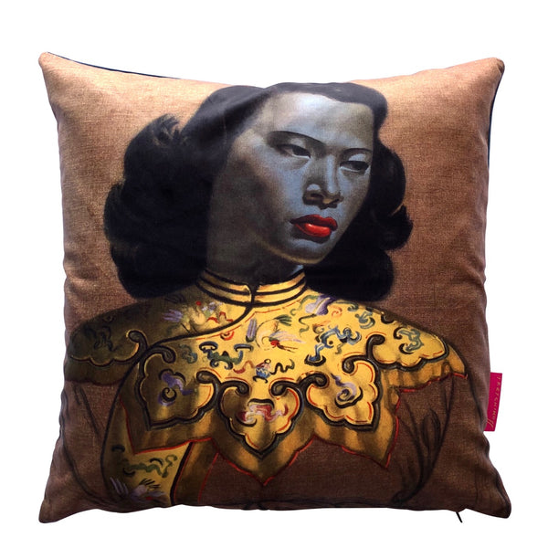 Tretchikoff 'Chinese Girl' Cushion