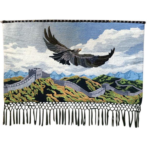 Vintage Eagle/Great Wall Tapestry
