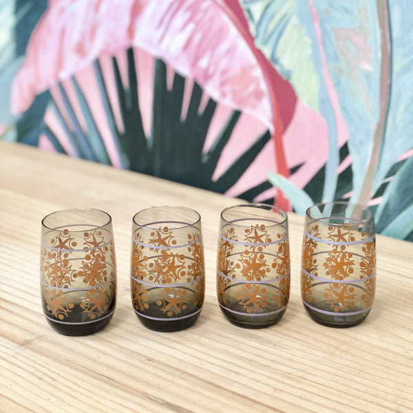 Set of 4 Retro Glasses