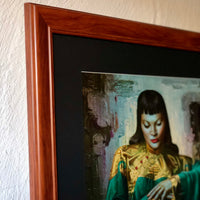 Tretchikoff 'Lady from Orient' Framed Vintage Print