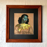 Tretchikoff 'Chinese Girl' Framed Vintage Print