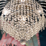 Silver Waterfall Chandelier