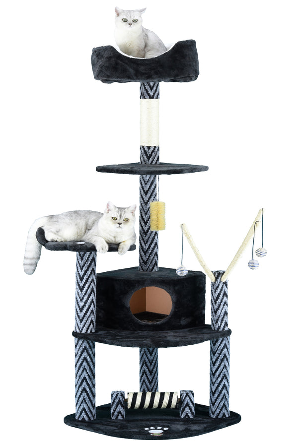 "62"" Cat Tree Condo Furniture (F18)"
