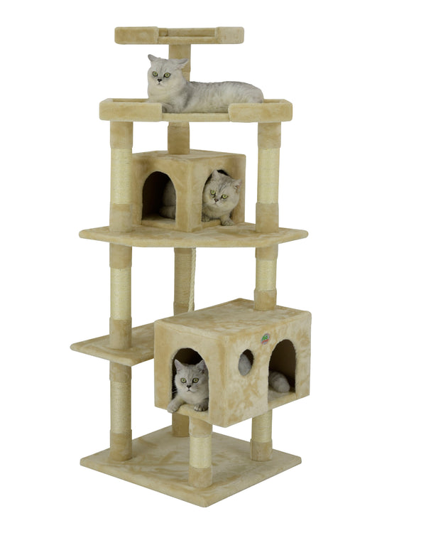 "60"" Cat Tree Condo Furniture"