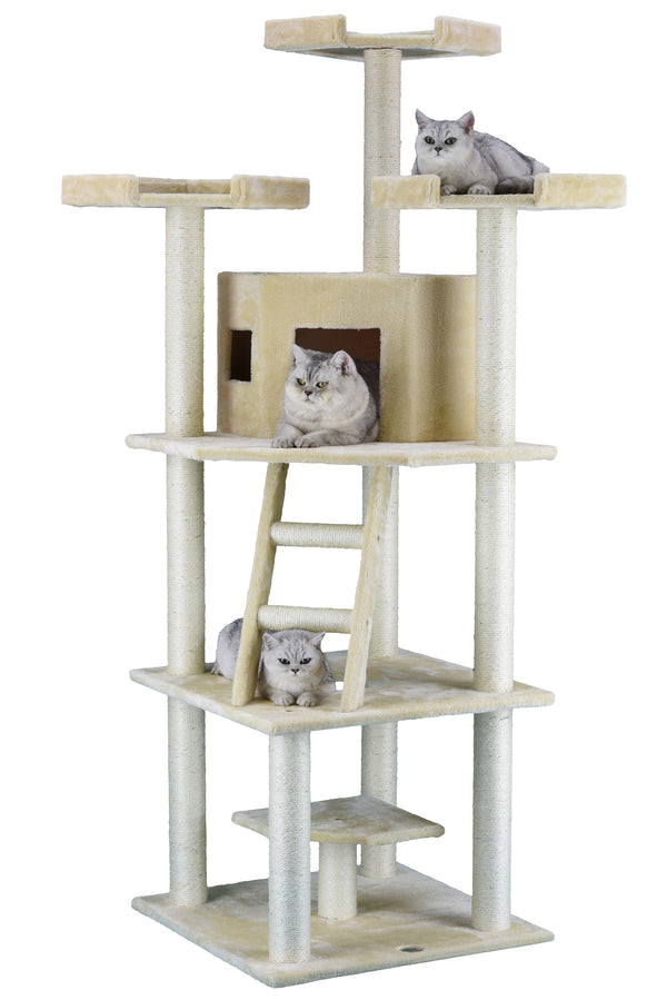 "78"" Cat Tree Condo Furniture (F2029)"