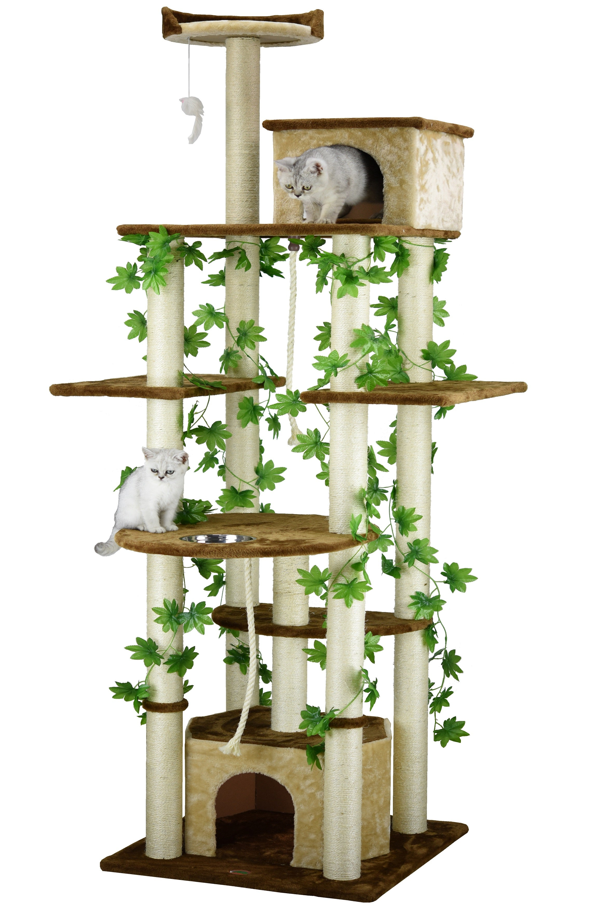 group paper teaser d modern cat rope natural perch looking recyclable and black inc product this is four petpals a white lounger condo tree ace with furniture level contemporay page s