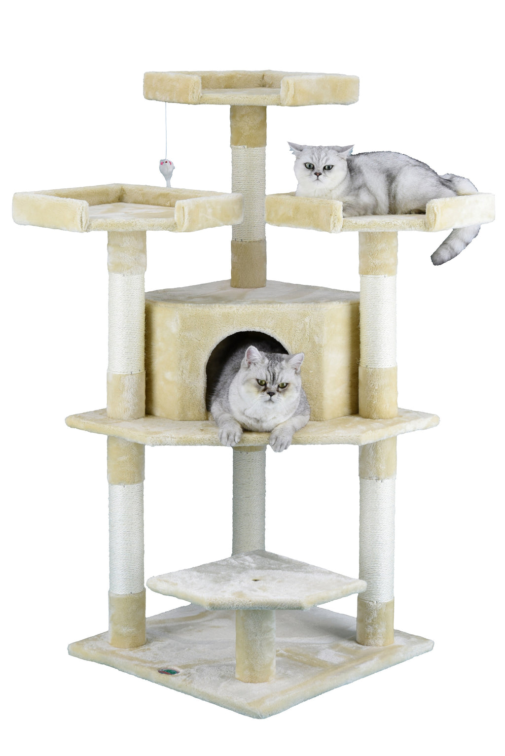 "50"" Cat Tree Condo Furniture (F3026)"