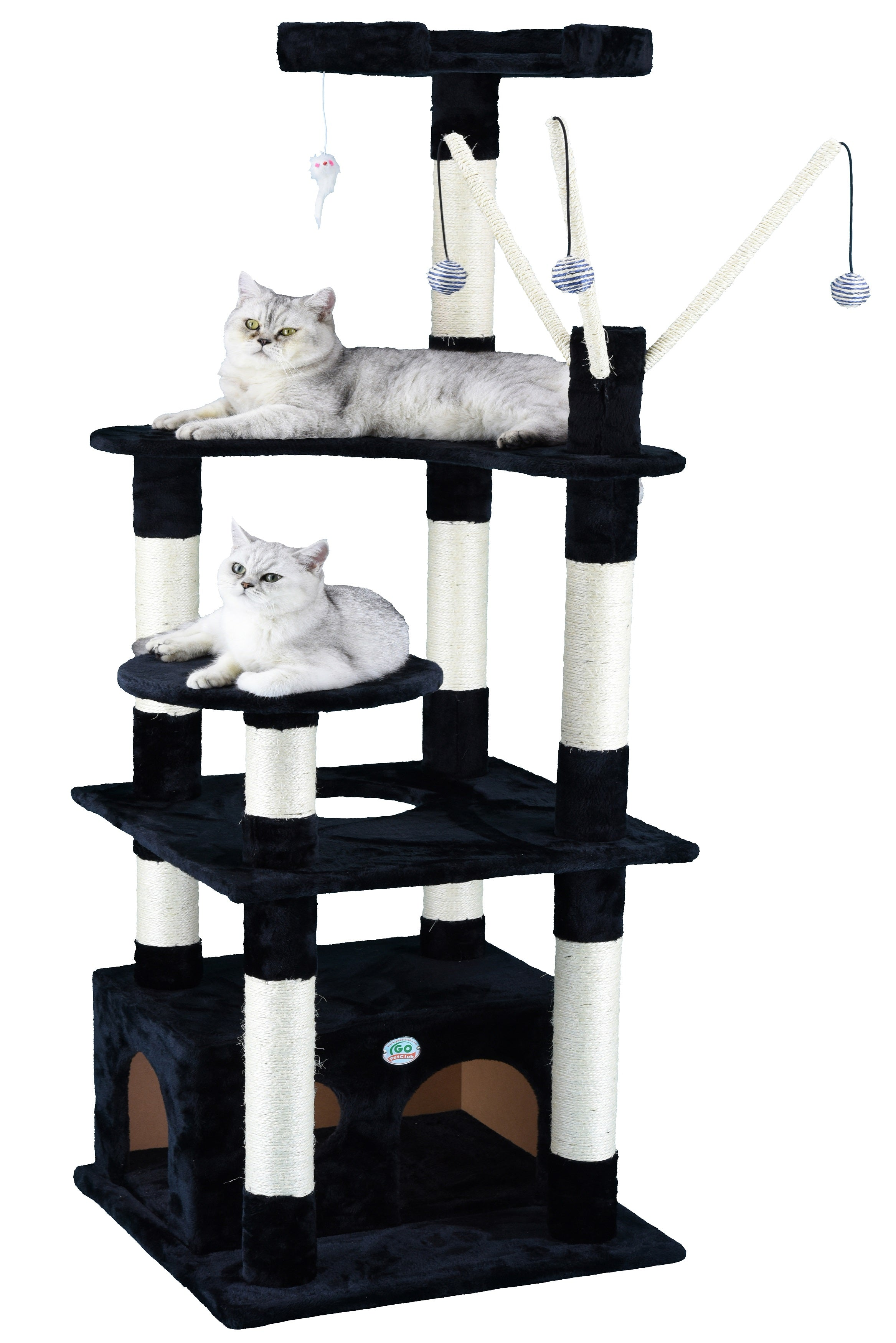 bungalow hover to click cat for tier zoom fingerhut scl ve product furniture majestic over full tree image uts pet