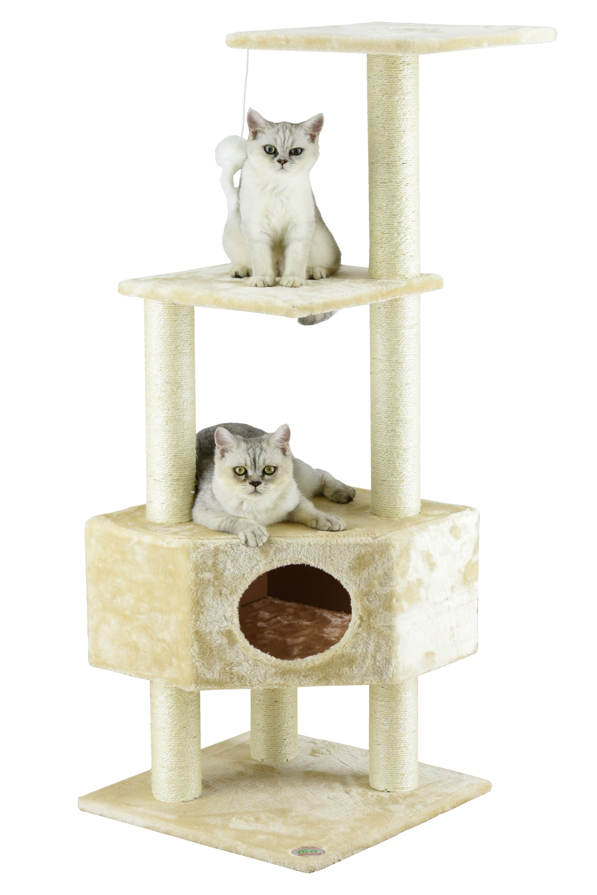 furniture choice best products product play rakuten tree bestchoiceproducts beige pet scratcher cat condo house shop
