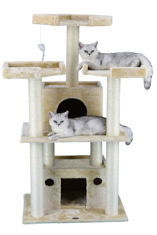"51"" Cat Tree Condo Furniture (F39)"