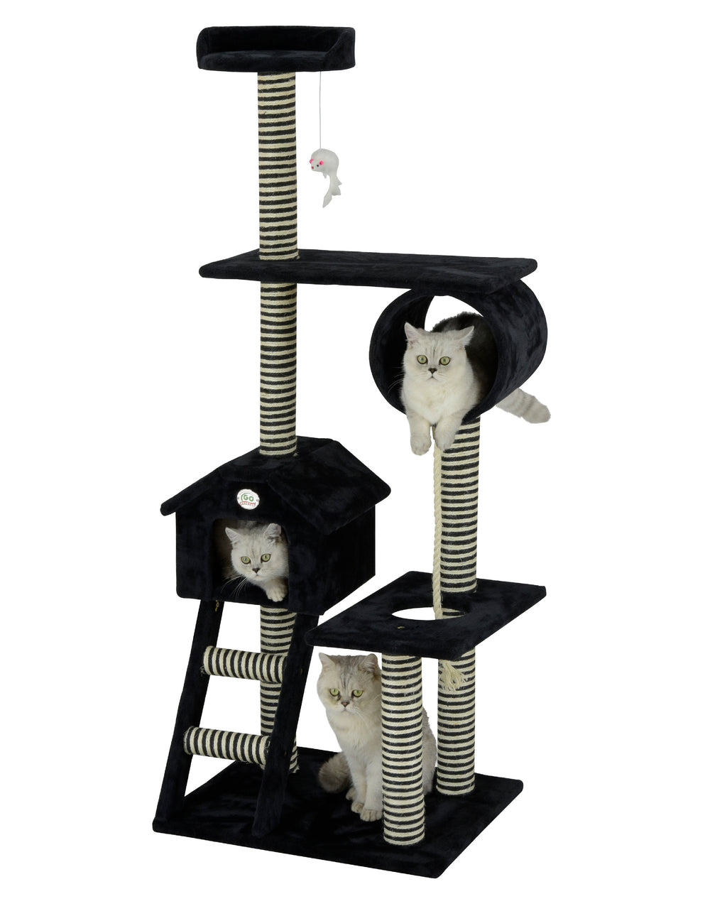 "60"" Cat Tree Condo Furniture (F44)"