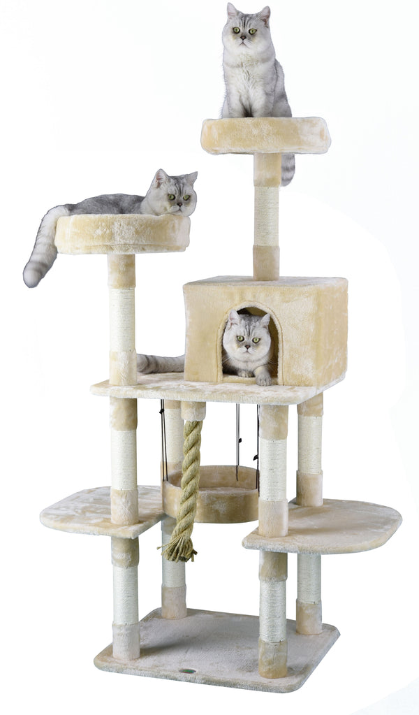 "61.5"" Jungle Rope Cat Tree (F826, F827)"