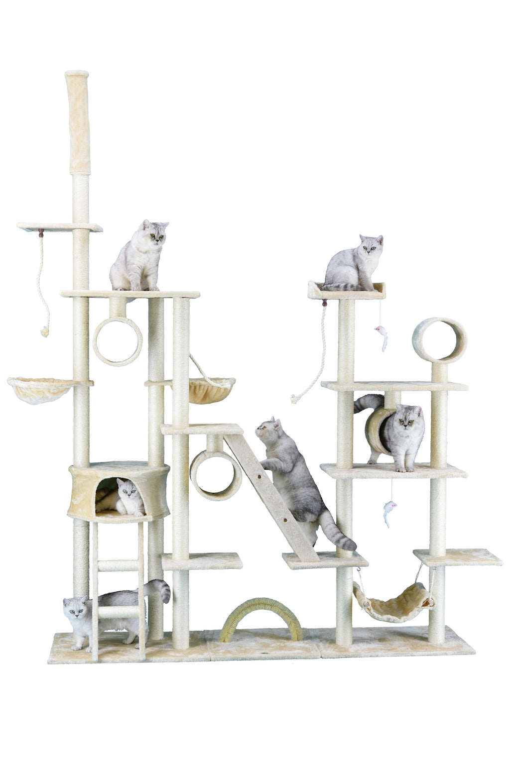 "108"" Cat Tree Condo Furniture (FC06)"