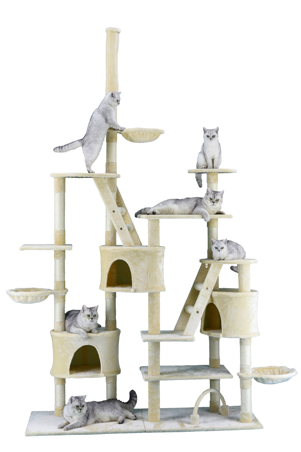 "106"" Cat Tree Condo Furniture (FC07)"