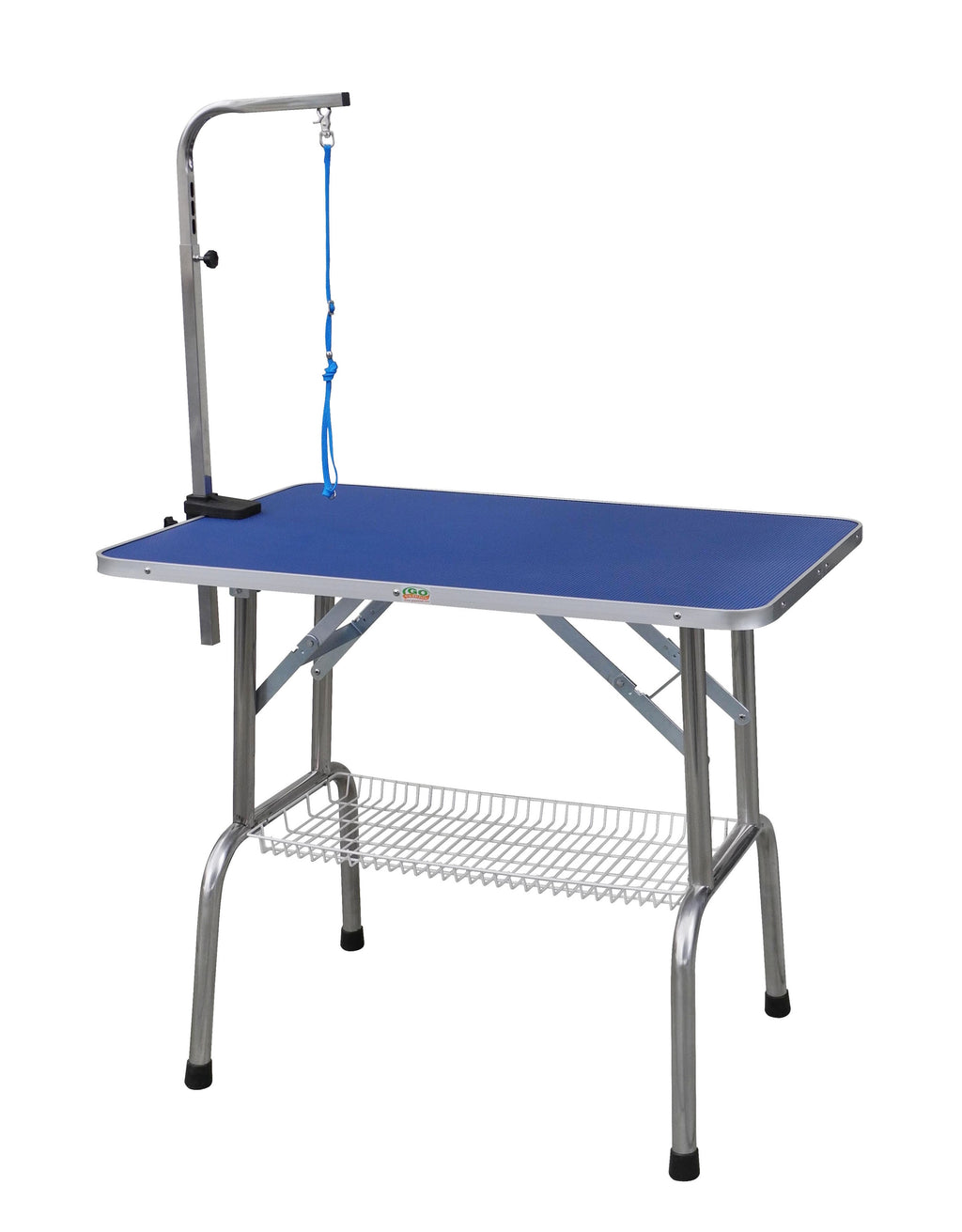 "30"" Heavy Duty Stainless steel Pet Dog Grooming Table with Arm"