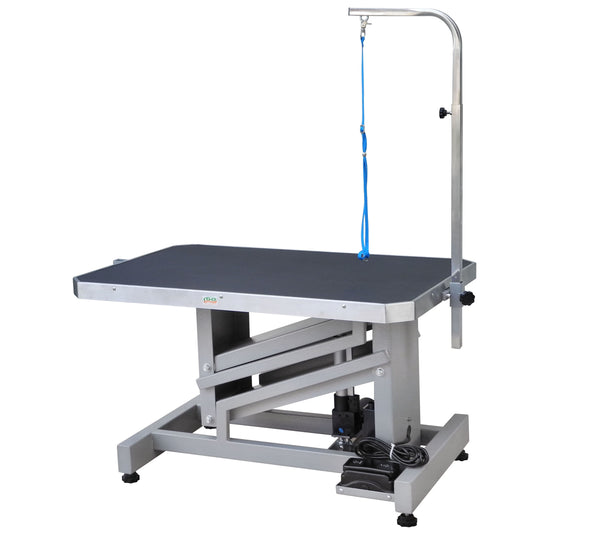 "36"" Electronic Motor Z-Lift Grooming Table with Arm (HGT-888)"