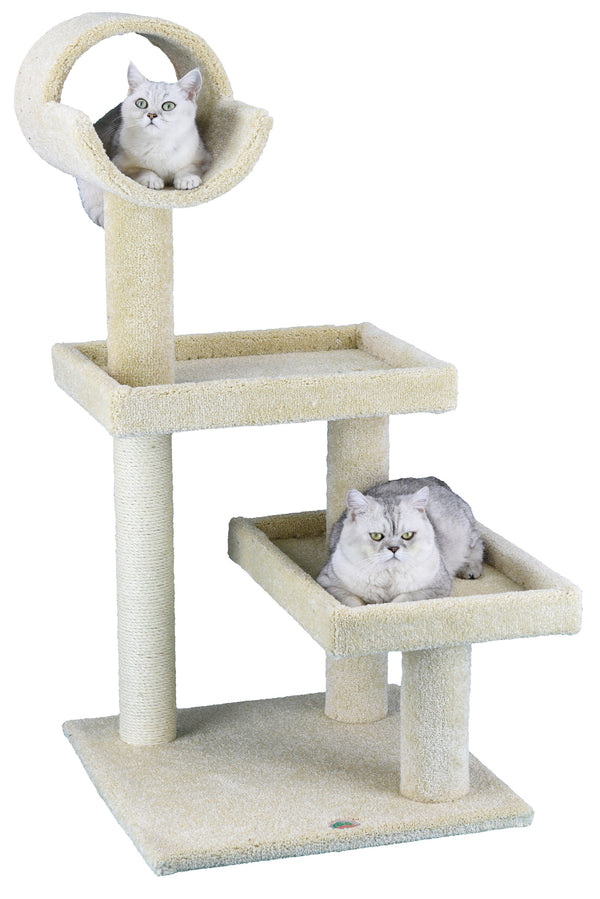 "50"" Premium Carpeted Cat Tree Furniture (LP-801)"
