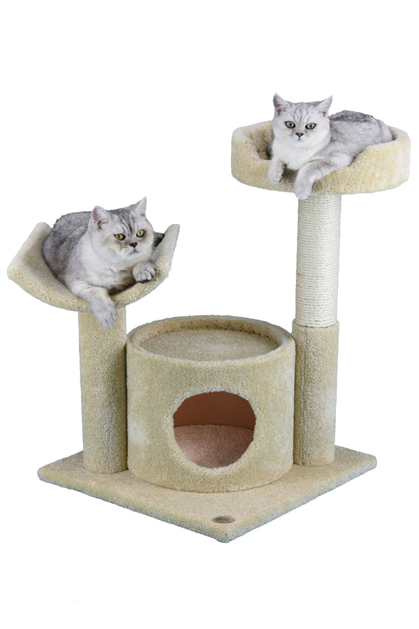 "32"" Premium Carpeted Cat Tree Furniture (LP-805)"