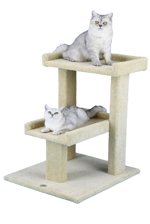 "25"" Premium Carpeted Cat Tree Furniture"