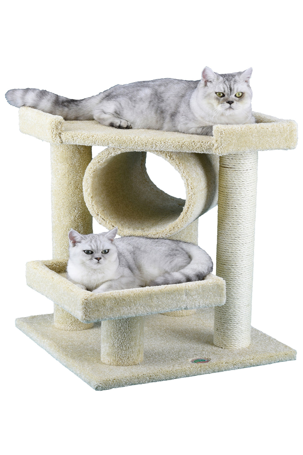 "28"" Premium Carpeted Cat Tree Furniture (LP-823)"