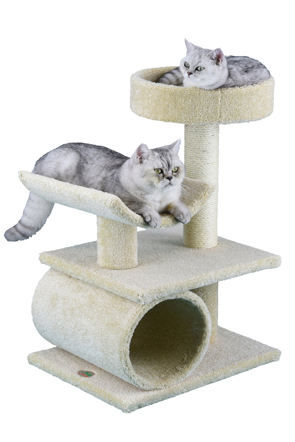 "32"" Premium Carpeted Cat Tree Furniture (LP-833)"
