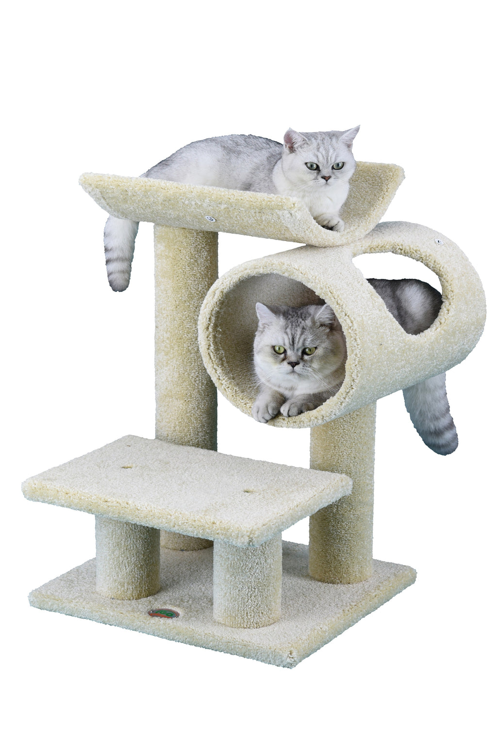 "30"" Premium Carpeted Cat Tree Furniture (LP-839)"